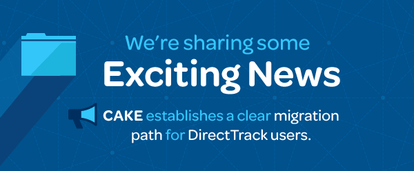 CAKE Announces Strategic Partnership With DirectTrack