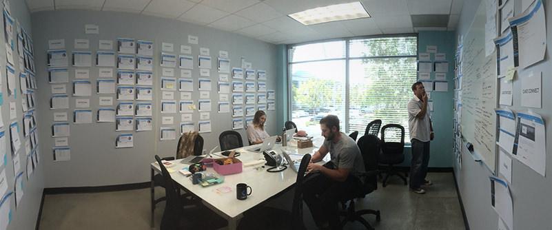 The Design Team Hard at Work