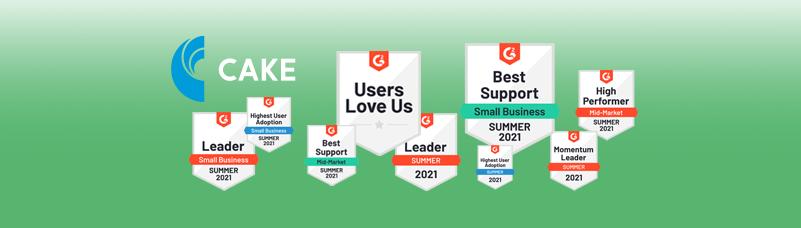G2 Summer Award Grid